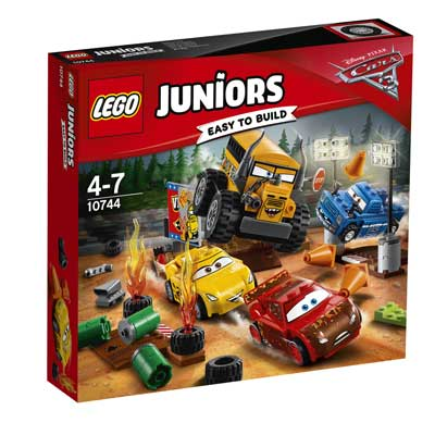 LEGO Juniors Cursa nebuneasca de la Thunder Hollow - 10744