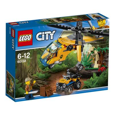 Lego City - Elicopter de marfa in jungla - 60158