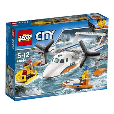 Lego City - Avion de salvare pe mare - 60164