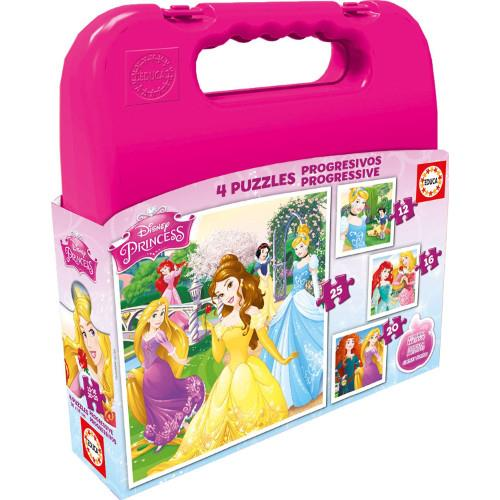 Puzzle Progresiv in Gentuta - Printesele Disney