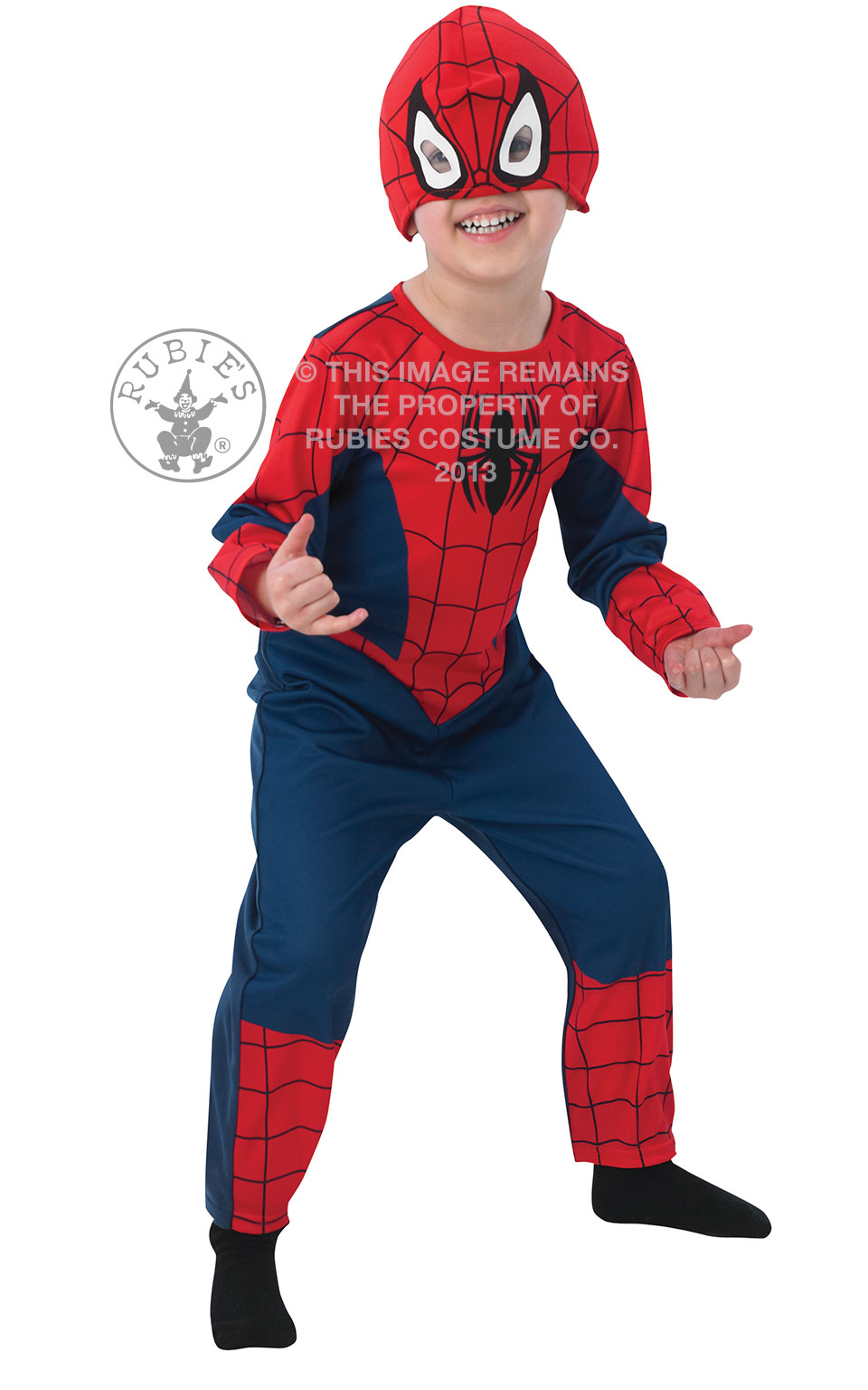 Costum Spiderman Classic Todd