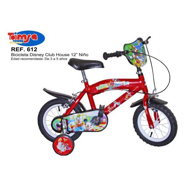 Bicicleta Mickey Mouse Club House 12