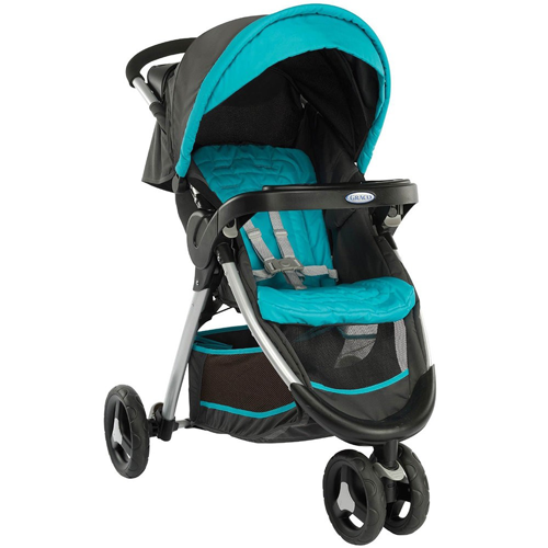 Carucior FastAction Fold Ocean Grey Graco