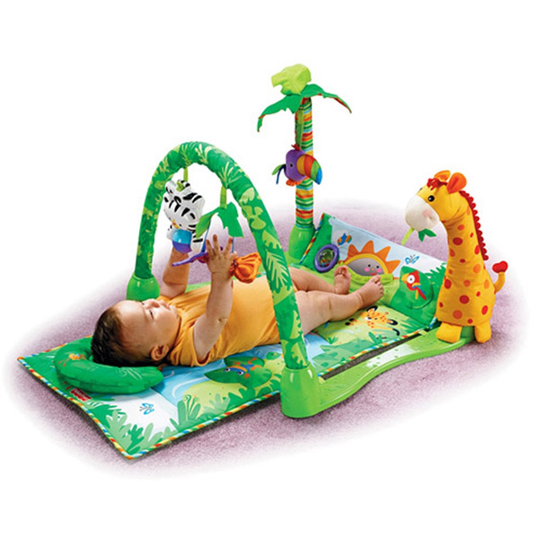 Centru activitati Fisher Price Rainforest 1 2 3 Musical Gym