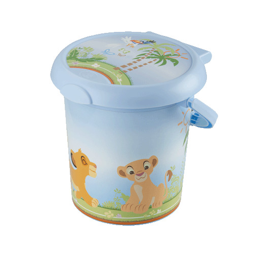 Cos pampers cu clapeta Style Lion King Rotho-babydesign