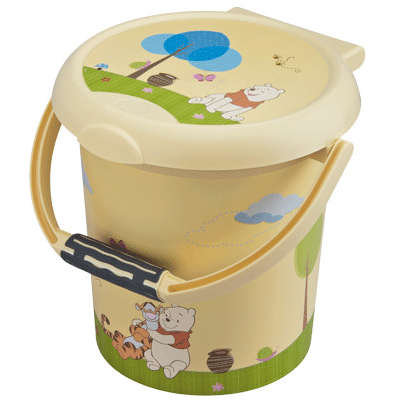 Cos pampers cu clapeta Style Winnie the Pooh
