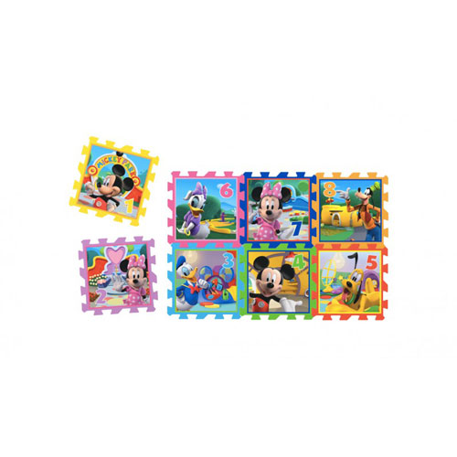 Knorrtoys - Covor puzzle din spuma Sotron Minnie & Mickey Mouse 8 piese