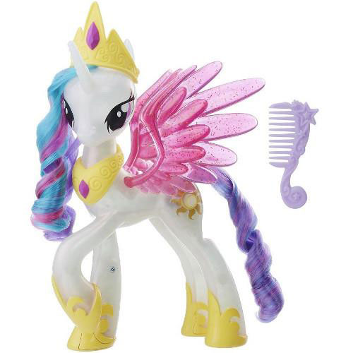 Figurina My Little Pony the Movie Glitter and Glow Princess Celestia