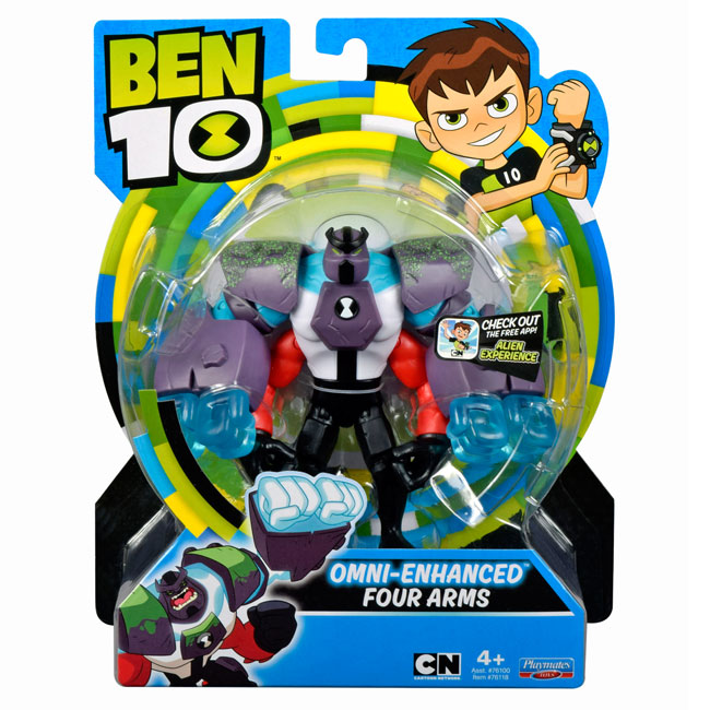 Figurine Ben 10 12cm 4 brate Upgrade 76118