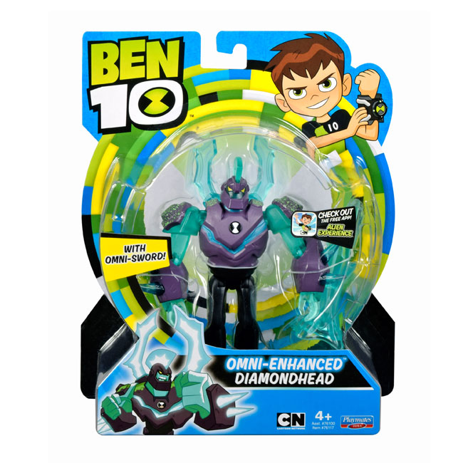 Figurine Ben 10 12cm Cap de diamant Upgrade 76117
