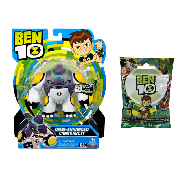 Figurine Ben 10 12cm Ghiulea Upgrade + Mini figurine foil bag