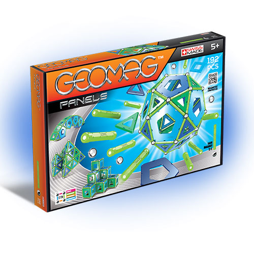 Geomag - Set Constructie Magnetic Panels 192 GEOPAN464
