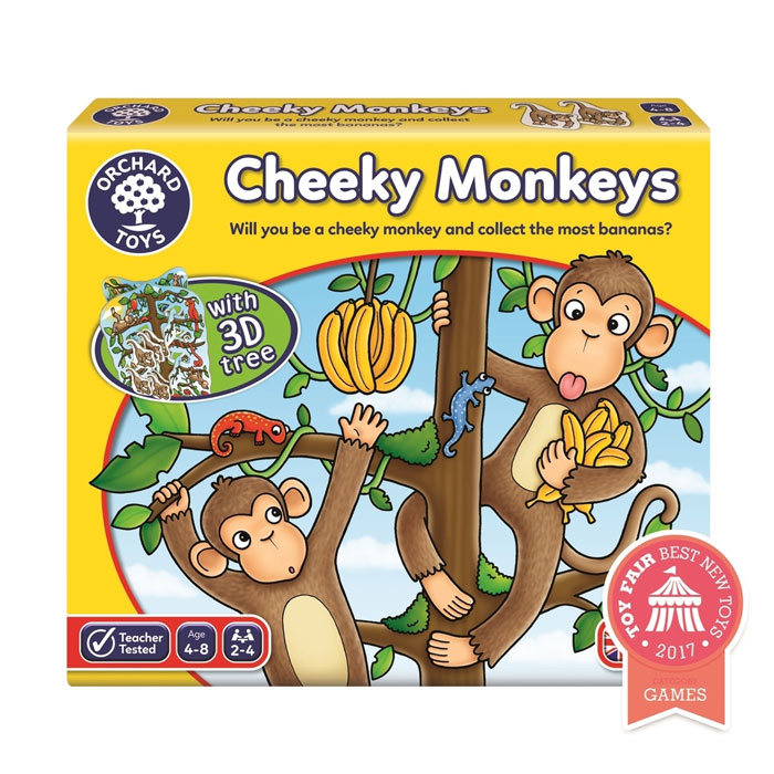 Joc educativ Cheeky Monkeys