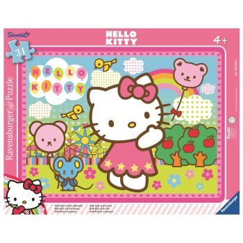 PUZZLE HELLO KITTY, 31 PIESE