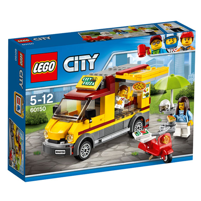 Lego City - Great Vehicles Furgoneta de pizza 60150