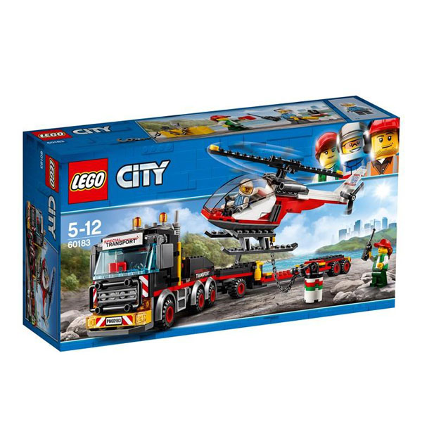 Lego City - Transport de incarcaturi grele 60183