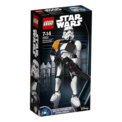 Lego Constraction Star Wars - Comandant Stormtrooper