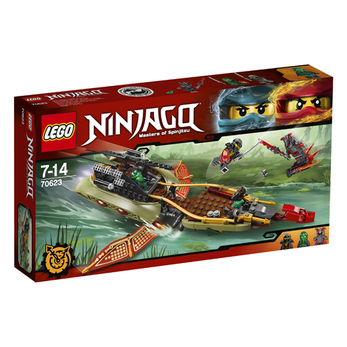 Lego Ninjago -  Destiny's Shadow - barca multifunctionala