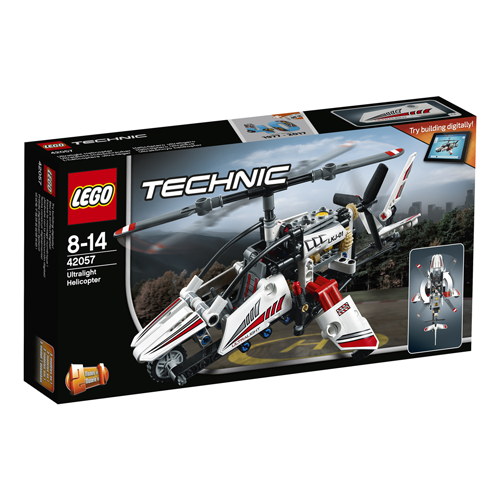 Lego Technic - Elicopter ultrausor 2057