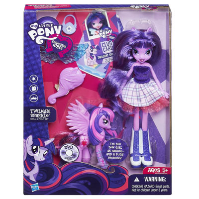 Figurina My Little Pony Equestria Girls Papusa + Ponei
