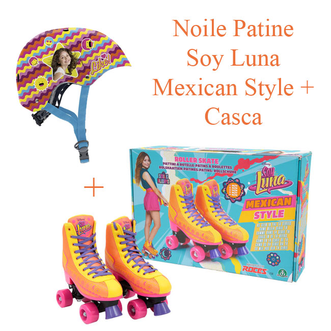 Noile patine Soy Luna - Mexican Style 30-31 + Casca