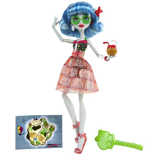 papusa monster high ghoulia yelps