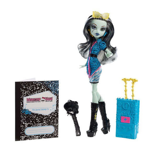 Papusa Monster High - Plimbarete Frankie Stein