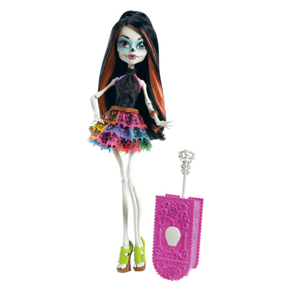 Papusa Monster High - Plimbarete Skelita Calaveras