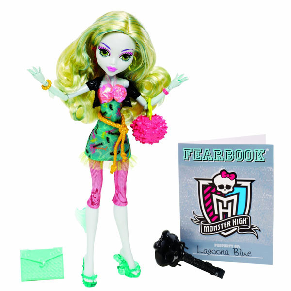 Papusa Monster High Lagoona Blue Picture Day