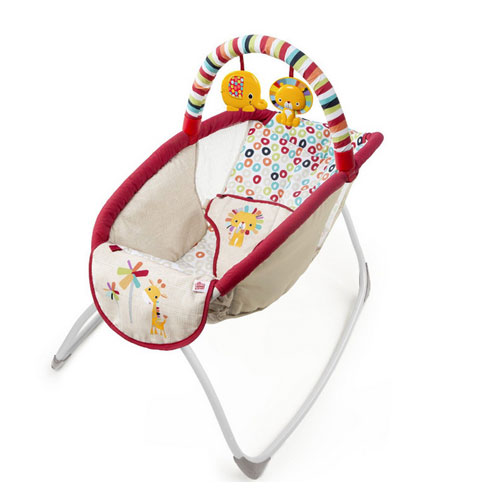 Playful Pinwheels Playtime to Bedtime Rocking Sleeper