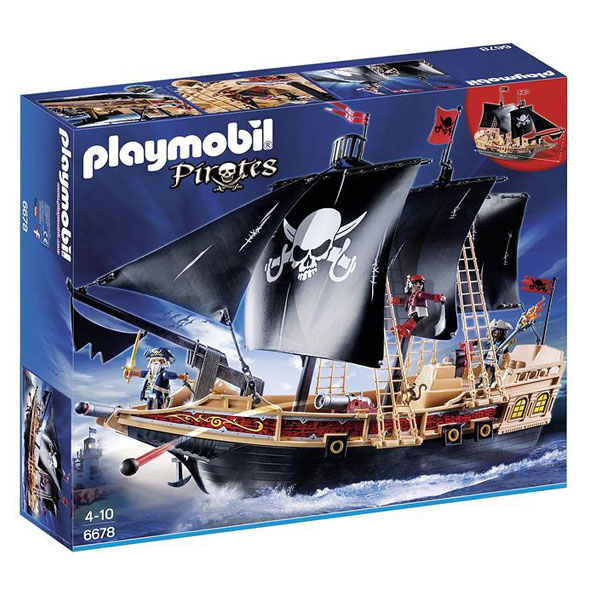 Playmobil Pirates - Corabia Piratilor 6678