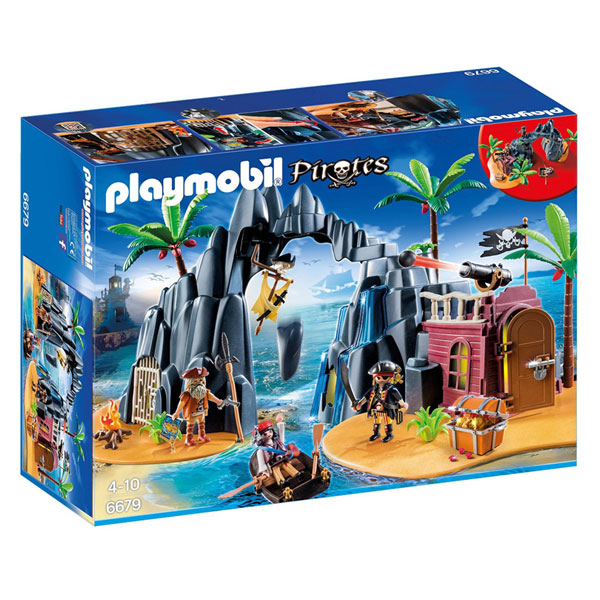Playmobil Pirates - Insula Comorilor 6679