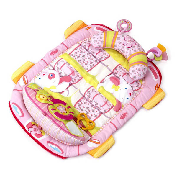 Bright Starts Pretty In Pink Tummy Cruiser Prop and Play