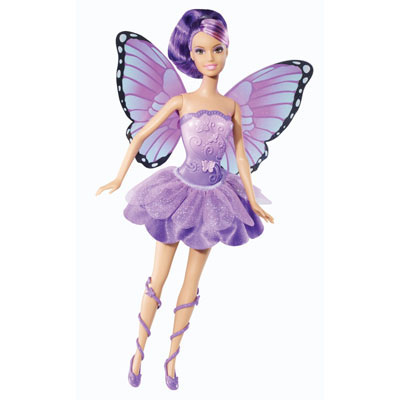 Papusa Willa-Barbie Mariposa si zana printesa