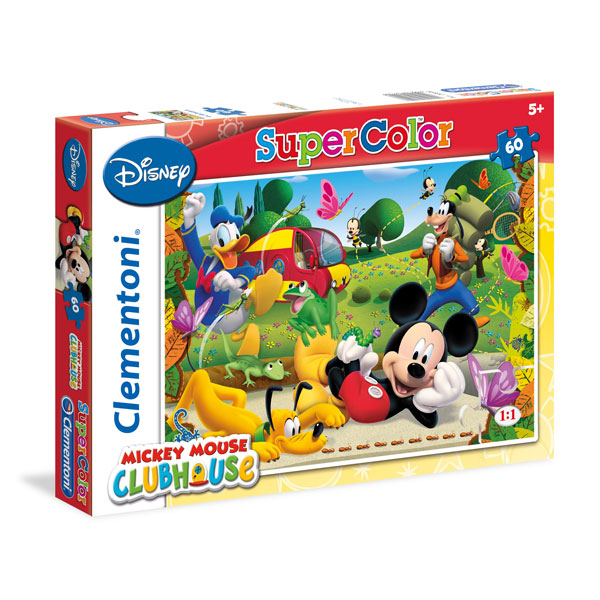 Puzzle 60 Piese - Mickey Mouse - Clementoni 26922