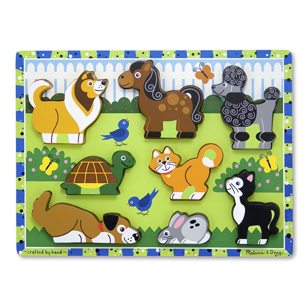Puzzle in relief animale de companie