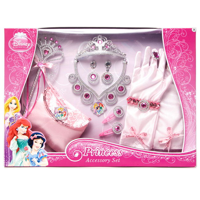 Set accesorii complet - Disney 3 New Princess 12 piese