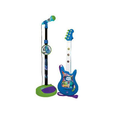 Set chitara si microfon Monsters University