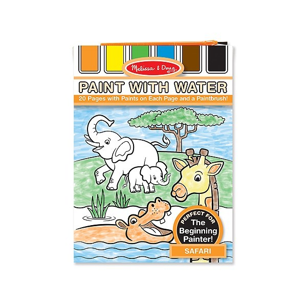Set de pictura cu apa Safari Melissa and Doug