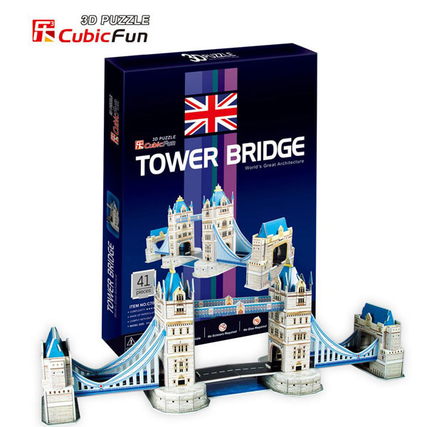 Tower Bridge Puzzle 3D CBF1