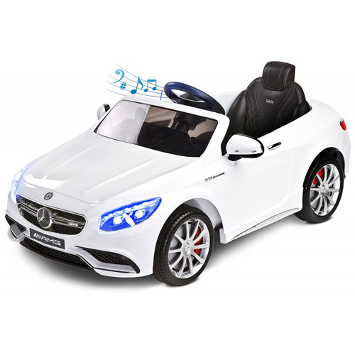 Vehiculul electric Toyz Mercedes-Benz S63 AMG 12V White