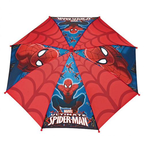 Umbrela manuala baston - Spiderman