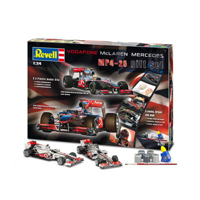 Revell VODAFONE MCLAREN MERCEDES MP4-25 SET