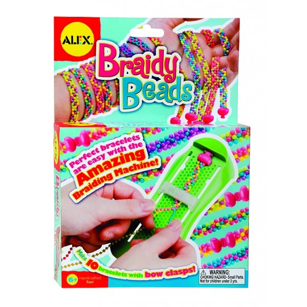 Alex Toys - Bratari impletite, Braidy Beads