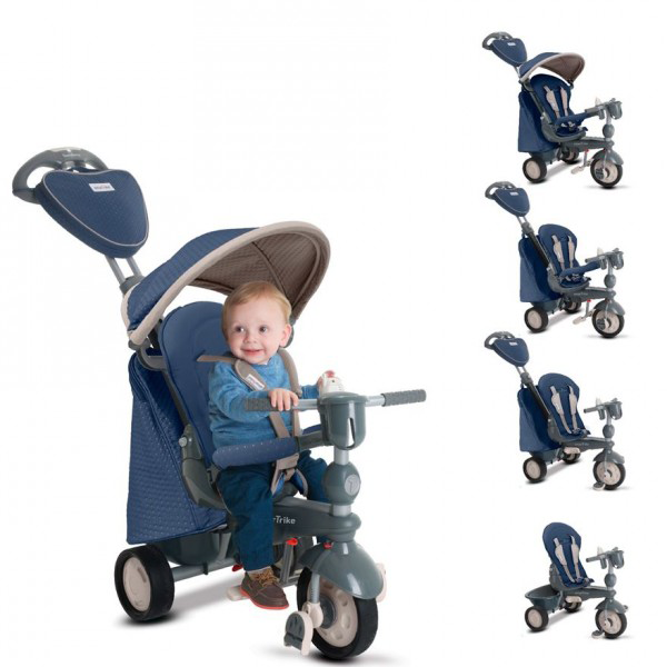 Tricicleta Smart-Trike Recliner Infinity