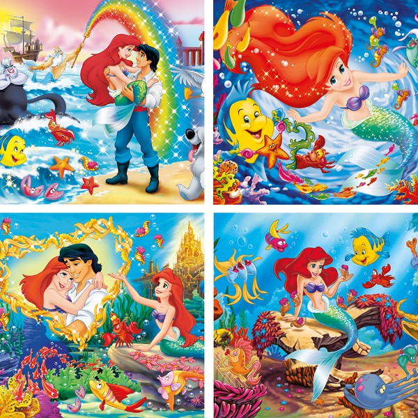 PUZZLE 4X6 PIESE - MICA SIRENA