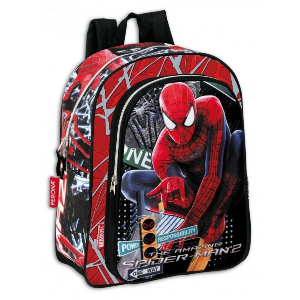 Ghiozdan gradinta Spiderman 2 Traffic Perona