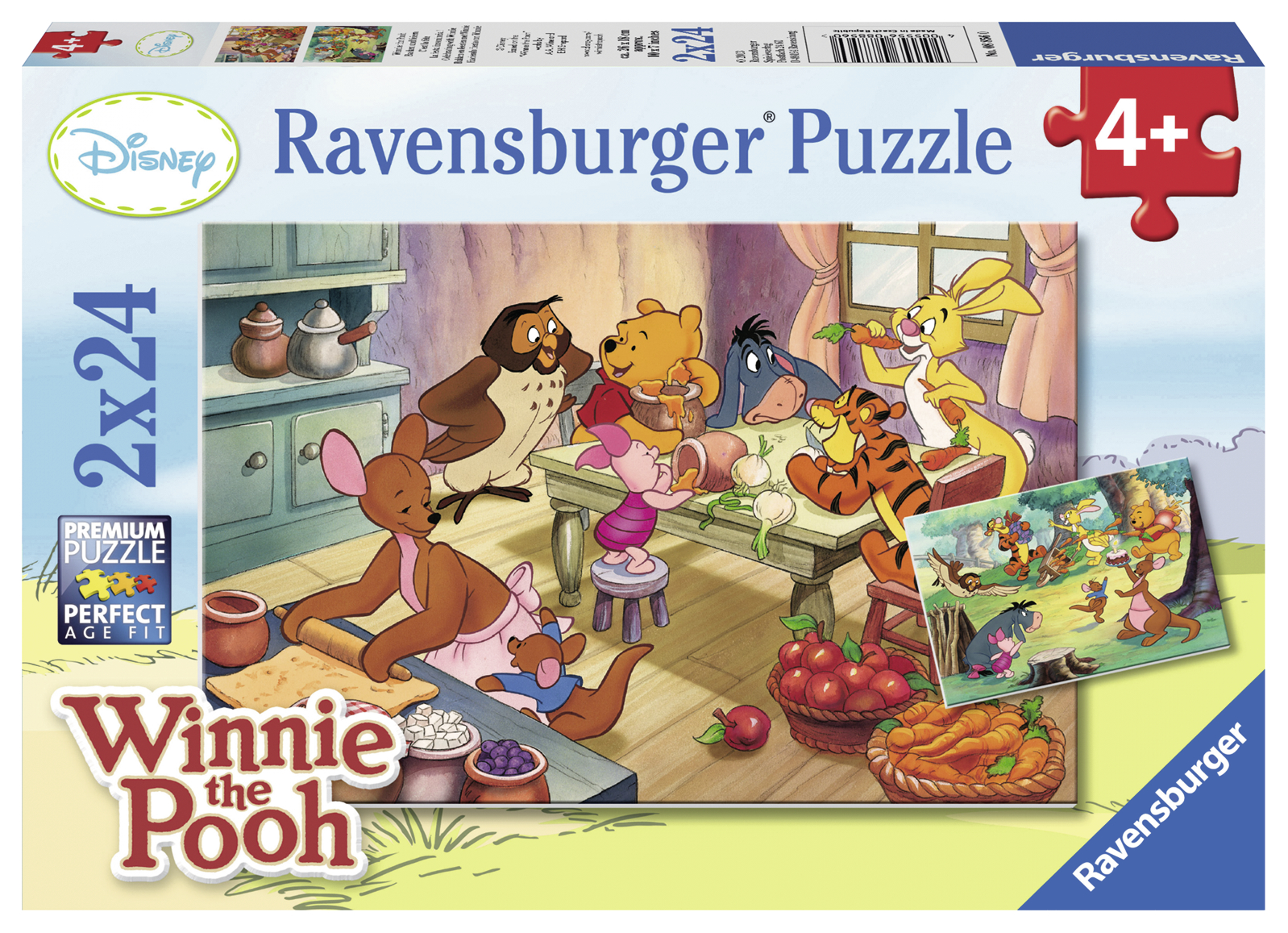 PUZZLE WINNIE THE POOH, 2x24 PIESE