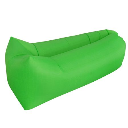 Saltea gonflabila Air Sofa - Lazy Bag - Verde