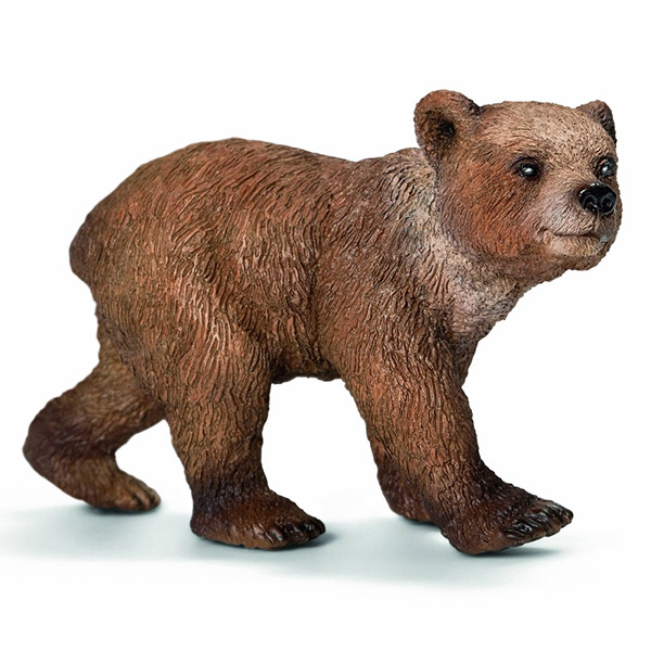 Figurina Urs Grizzly pui - 14687